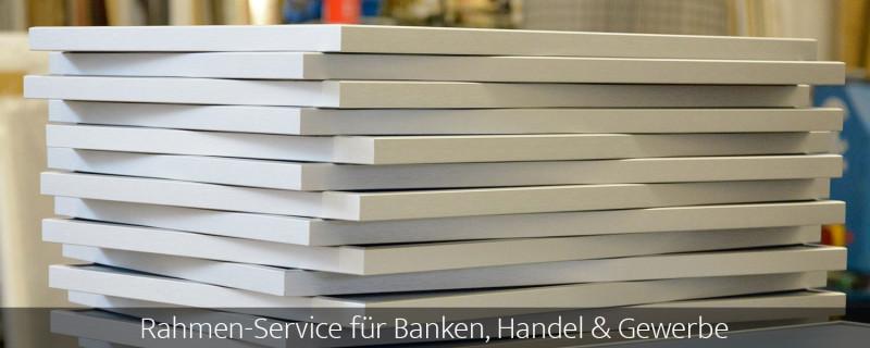 Zum Rahmen-Service für Banken, Handel und Gewerbe