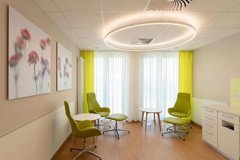 Bildausstattung für Krankenhaus Wartezimmer