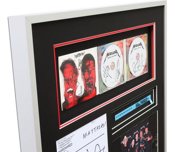 Objektrahmen mit Metallica CD