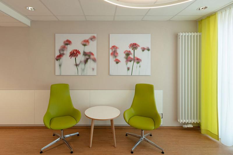 Bildausstattung für Krankenhaus kleines Wartezimmer